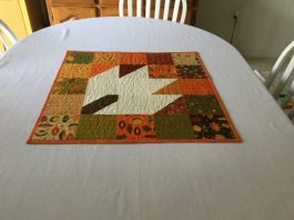 Hello Fall Table topper