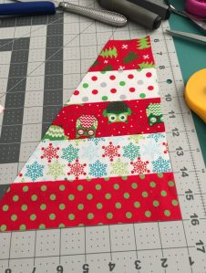 Christmas Hexie Scrap