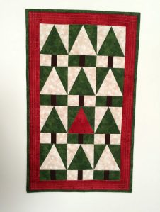 Christmas Patchwork Trees