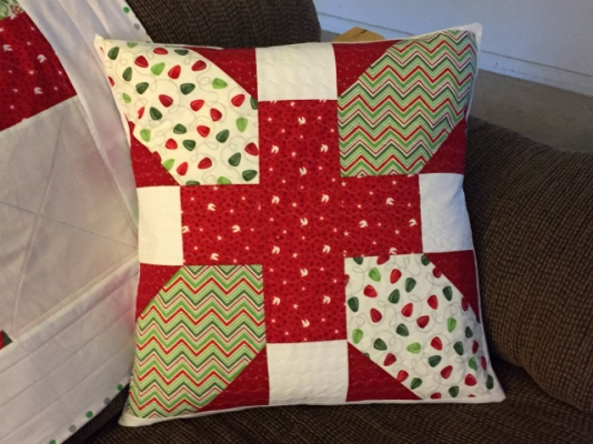 X Plus Quilted 20 inch pillow