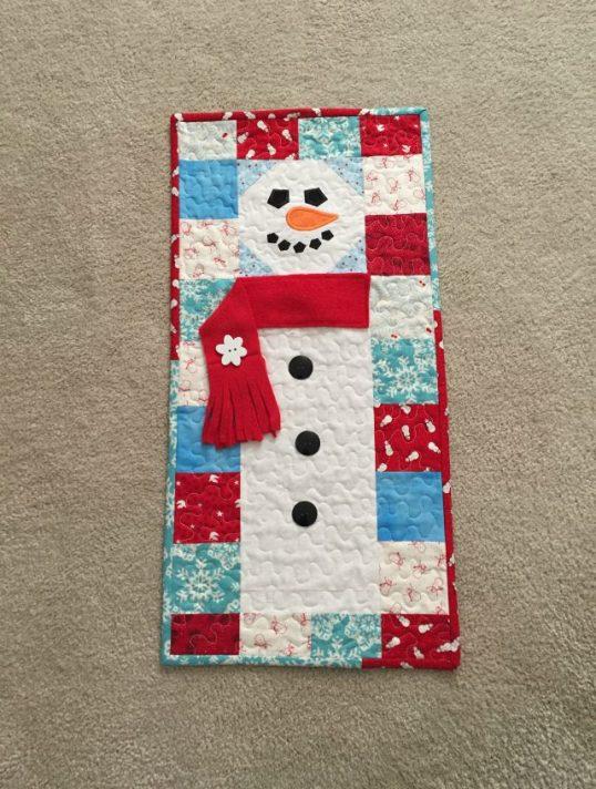 snowman-door-banner