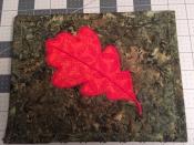 mug rug leaf 2