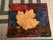 mug rug leaf 3