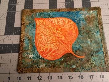mug rug leaf 4
