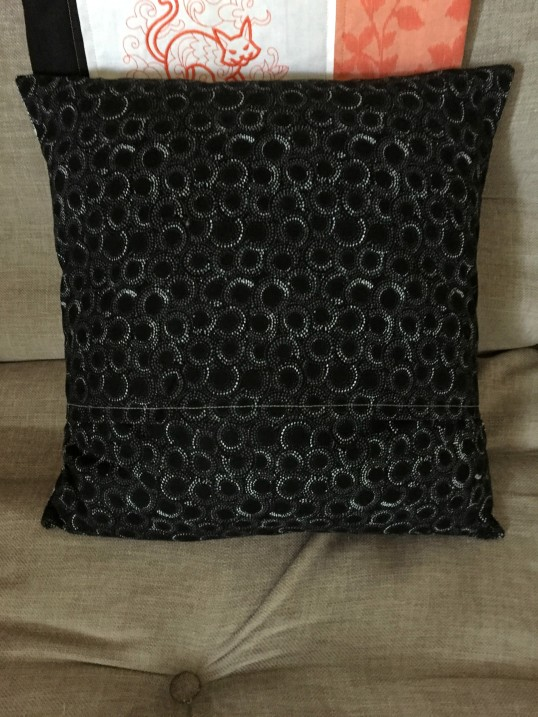 2017 Halloween courthouse pillow back