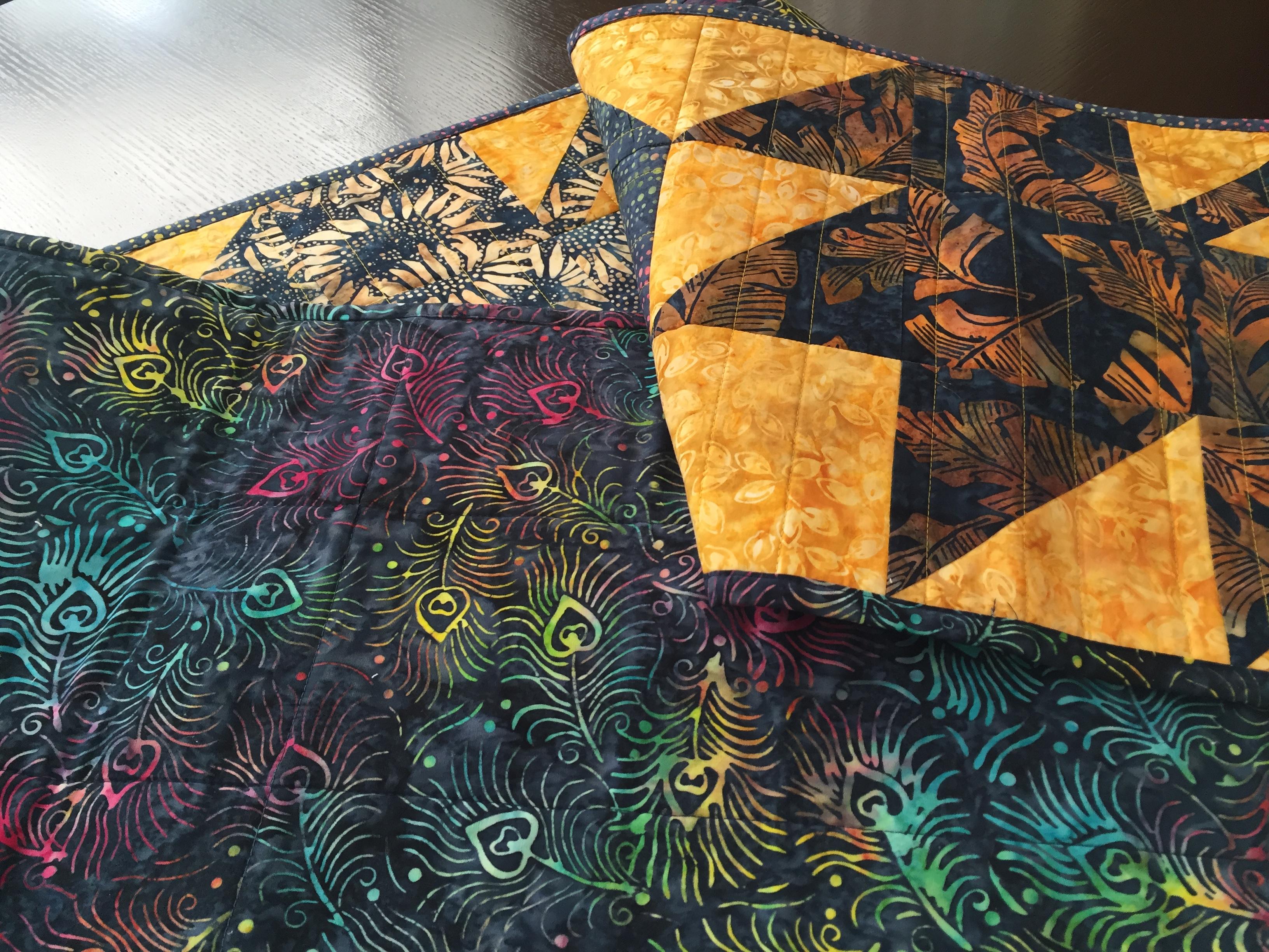 Batik Table Runner 4