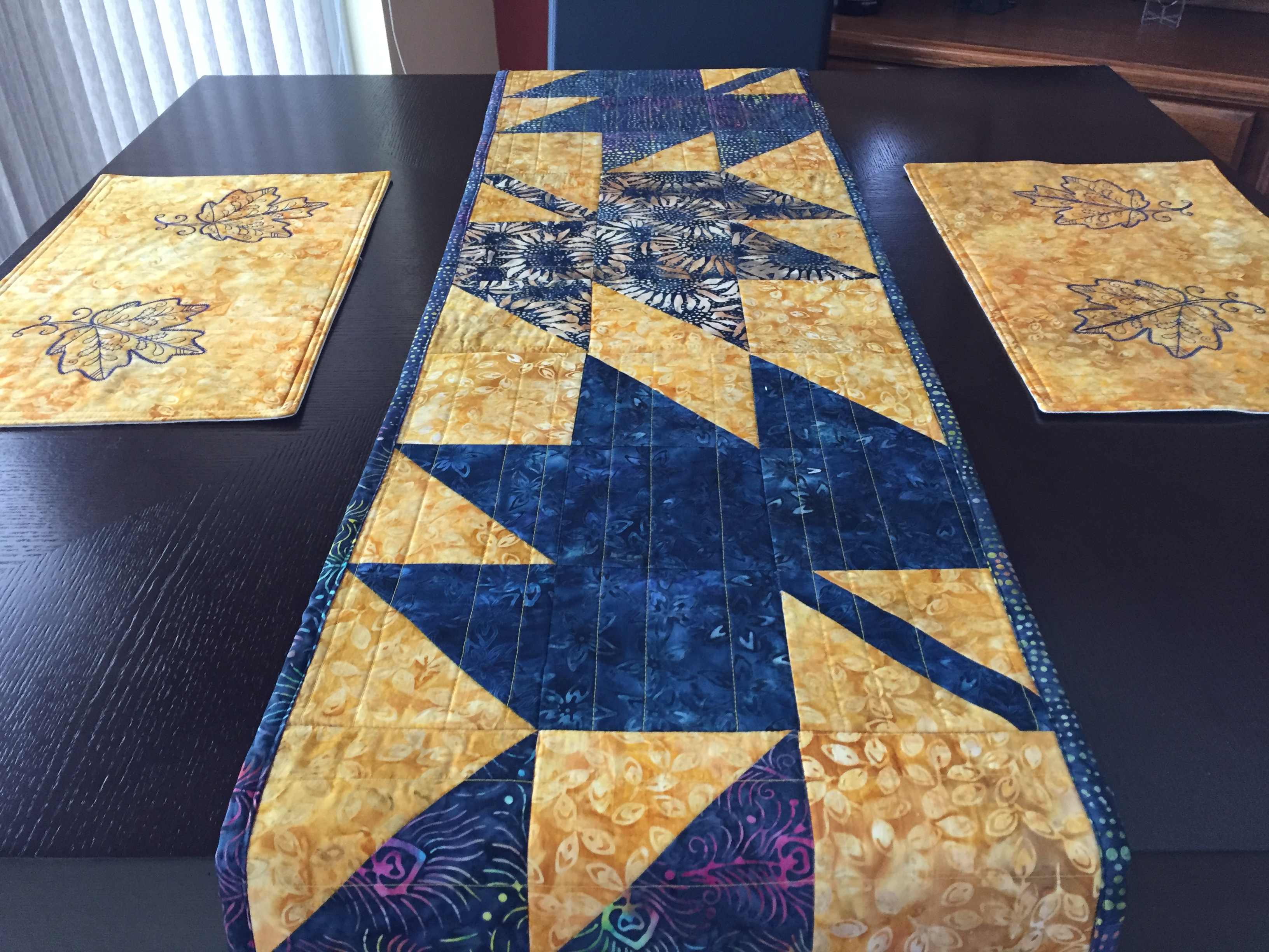 Batik Table Runner 6
