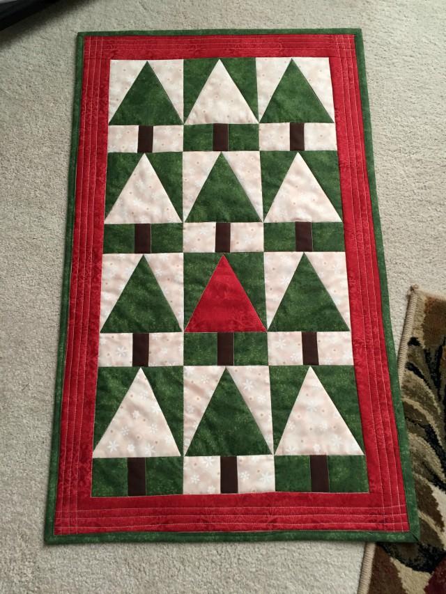 Christmas Tree Tri Recs