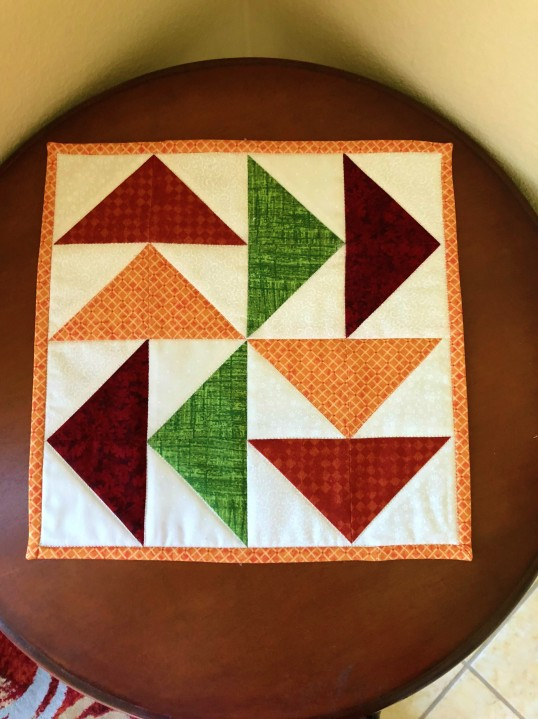 fall 2018 candle mat