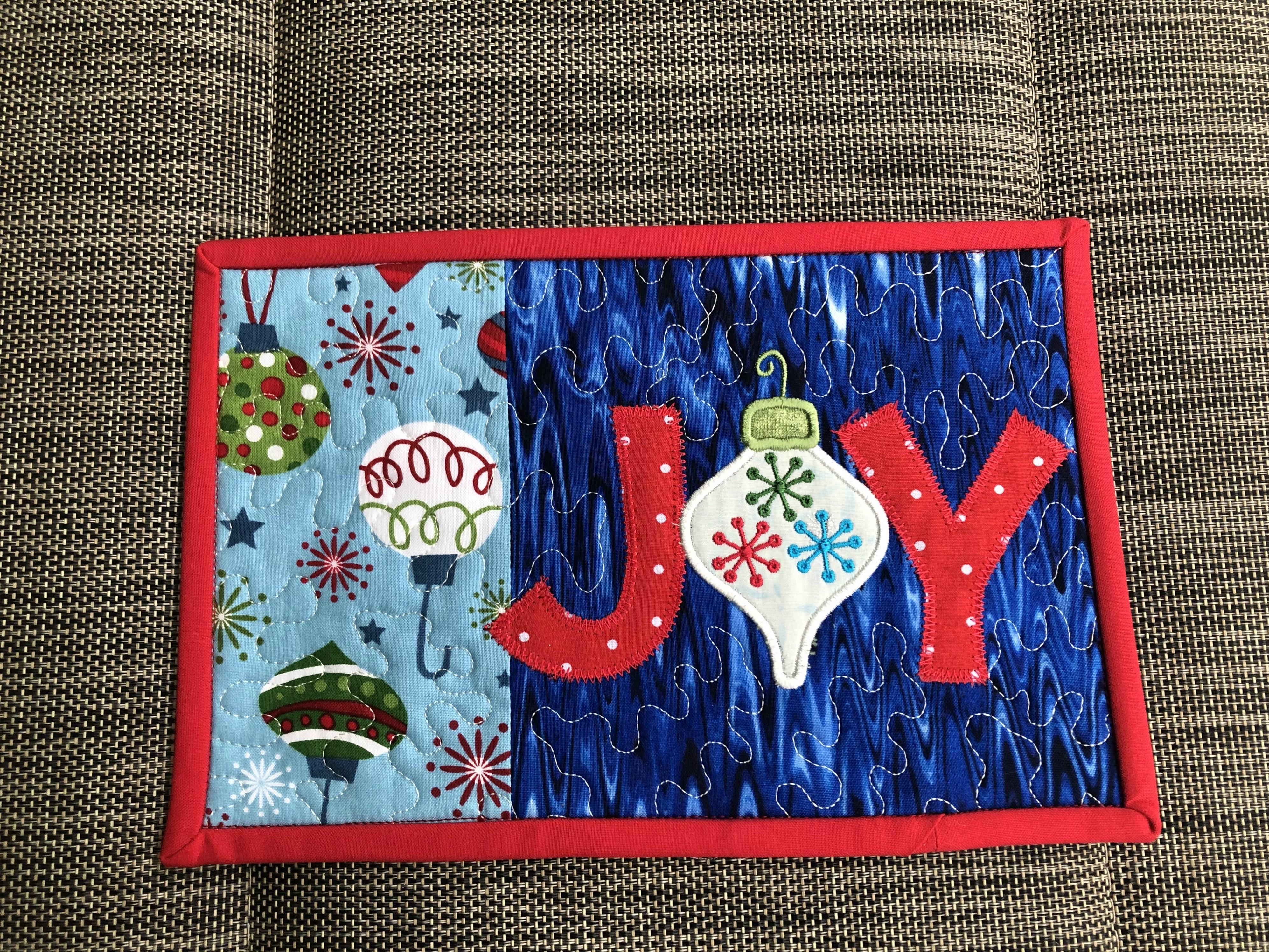 Christmas 2018 Ornament Joy