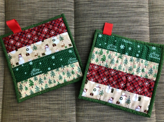 Christmas 2018 QAYG Potholders