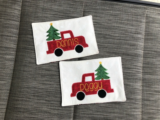 Christmas 2018 Red Truck 1