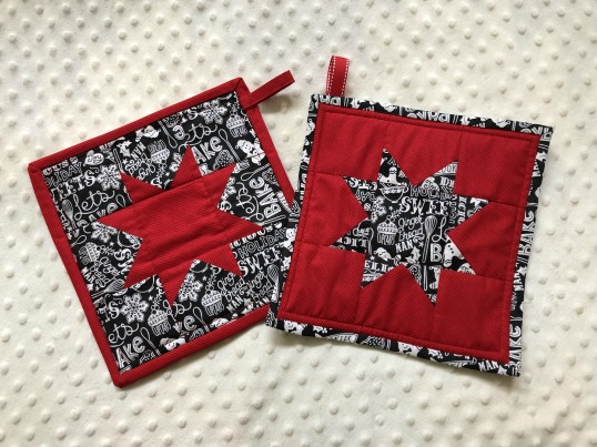 Christmas 2018 Potholders