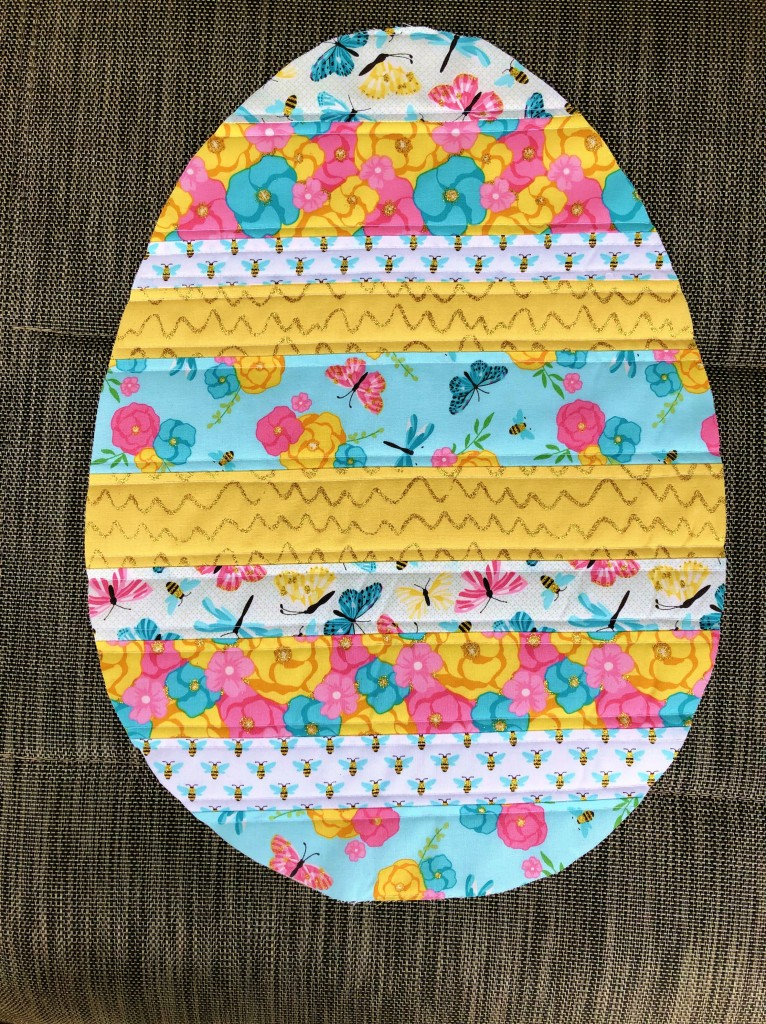 QAYG Easter table runner