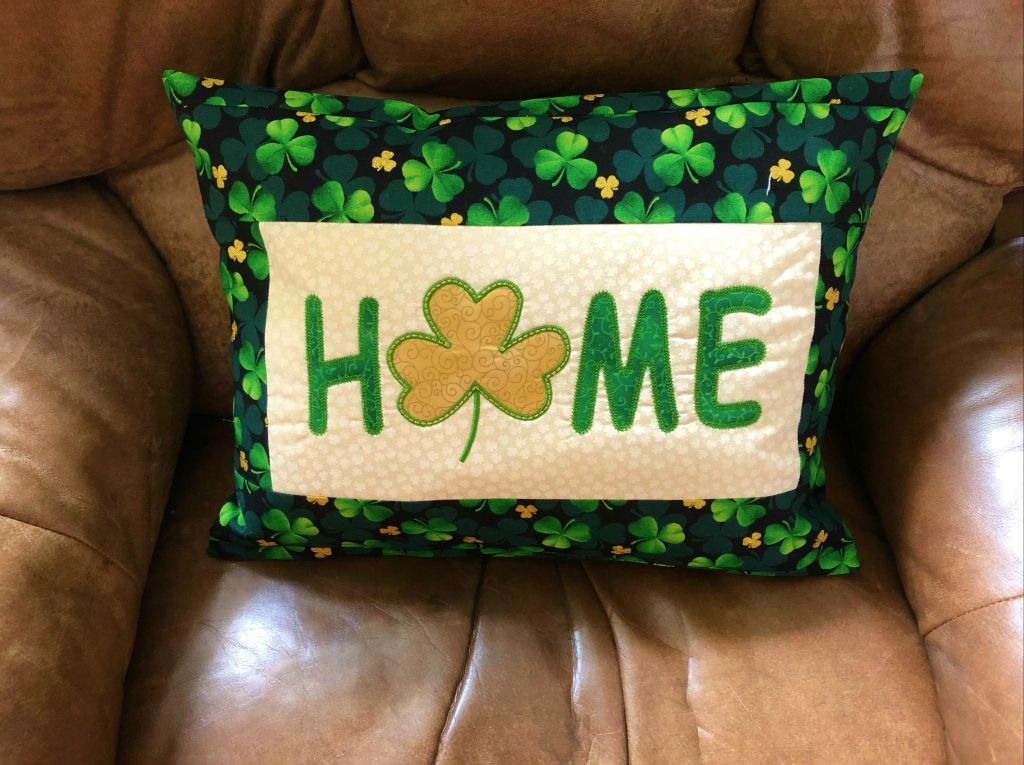 st patty machine embroidery