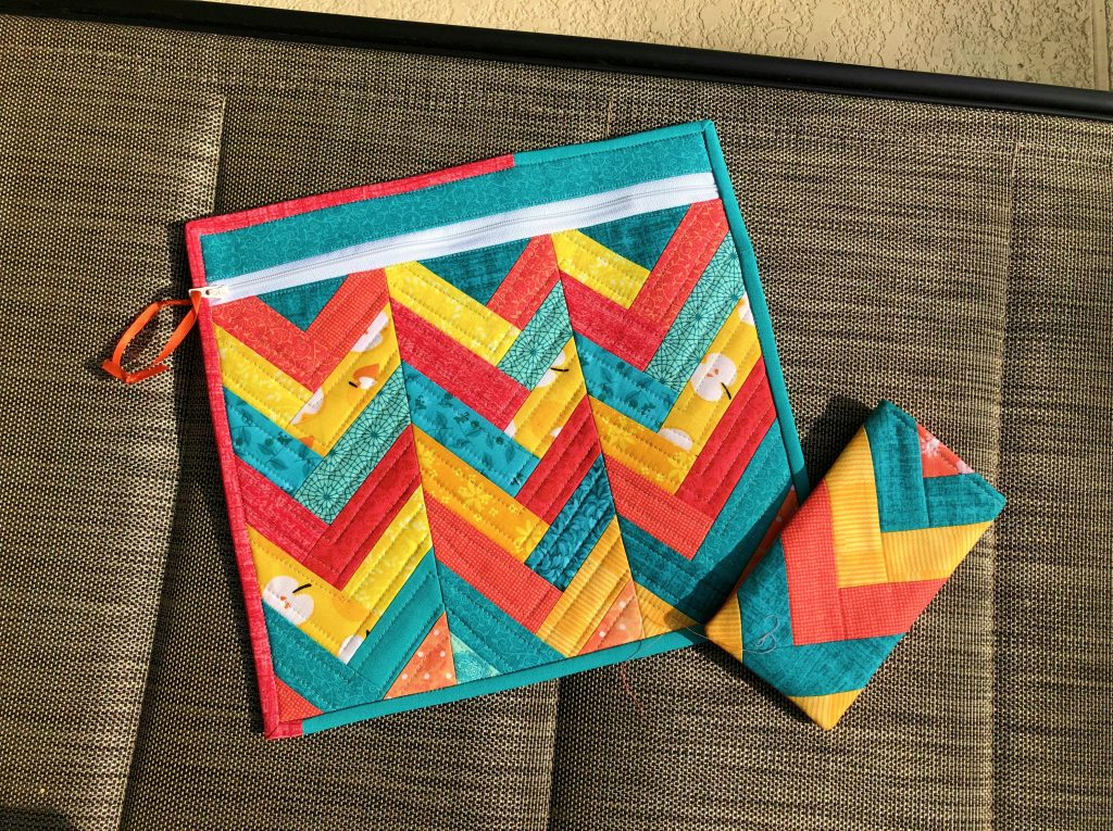 quilted herringbone projects