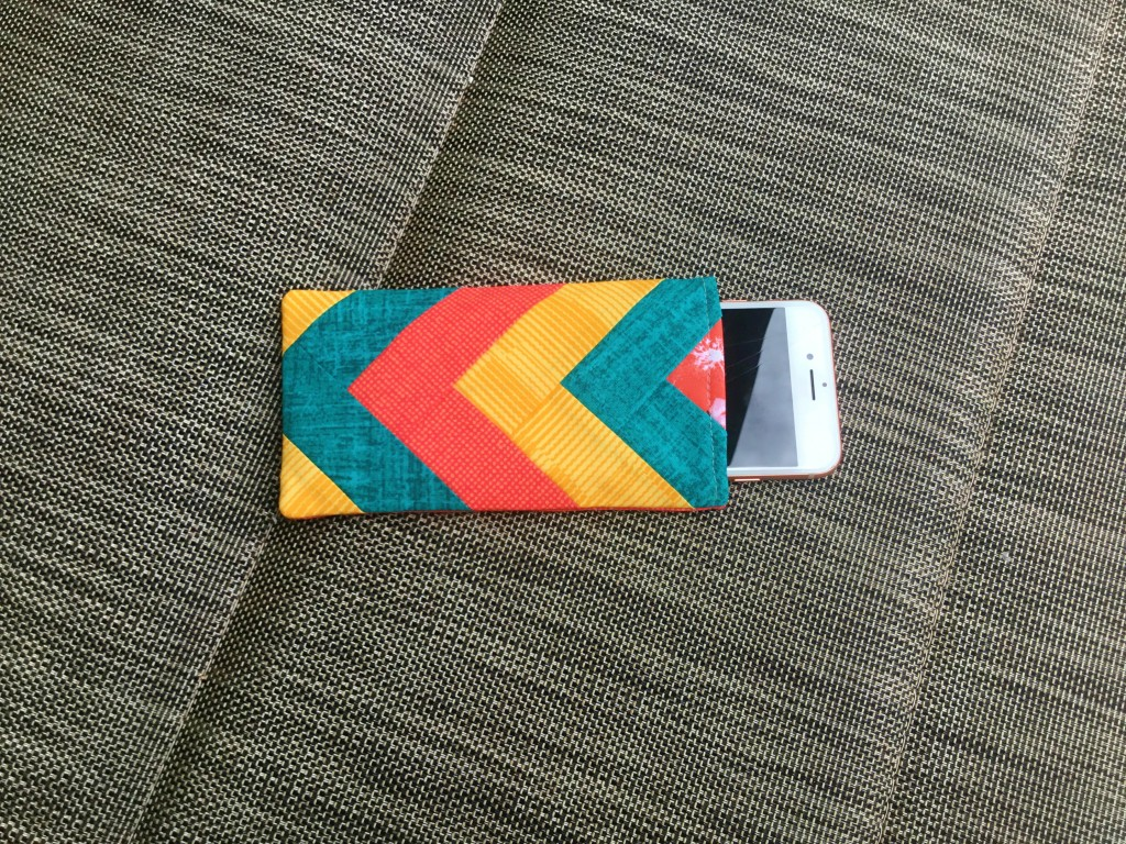 quilted iphone cover