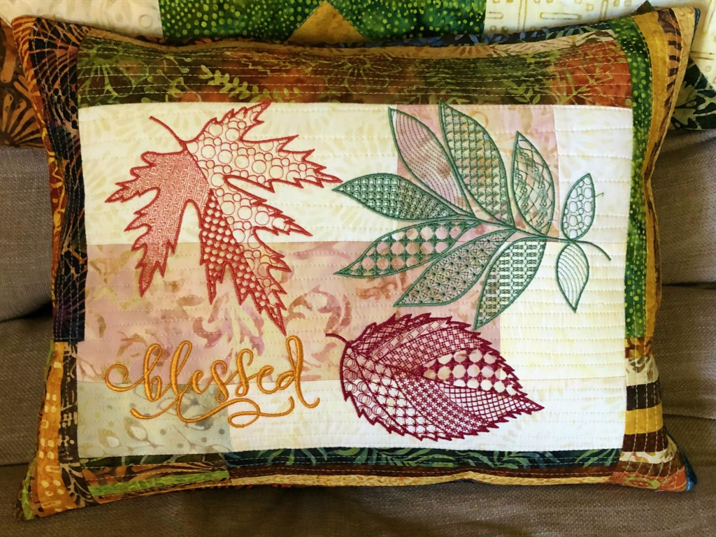 QAYG fall pillow