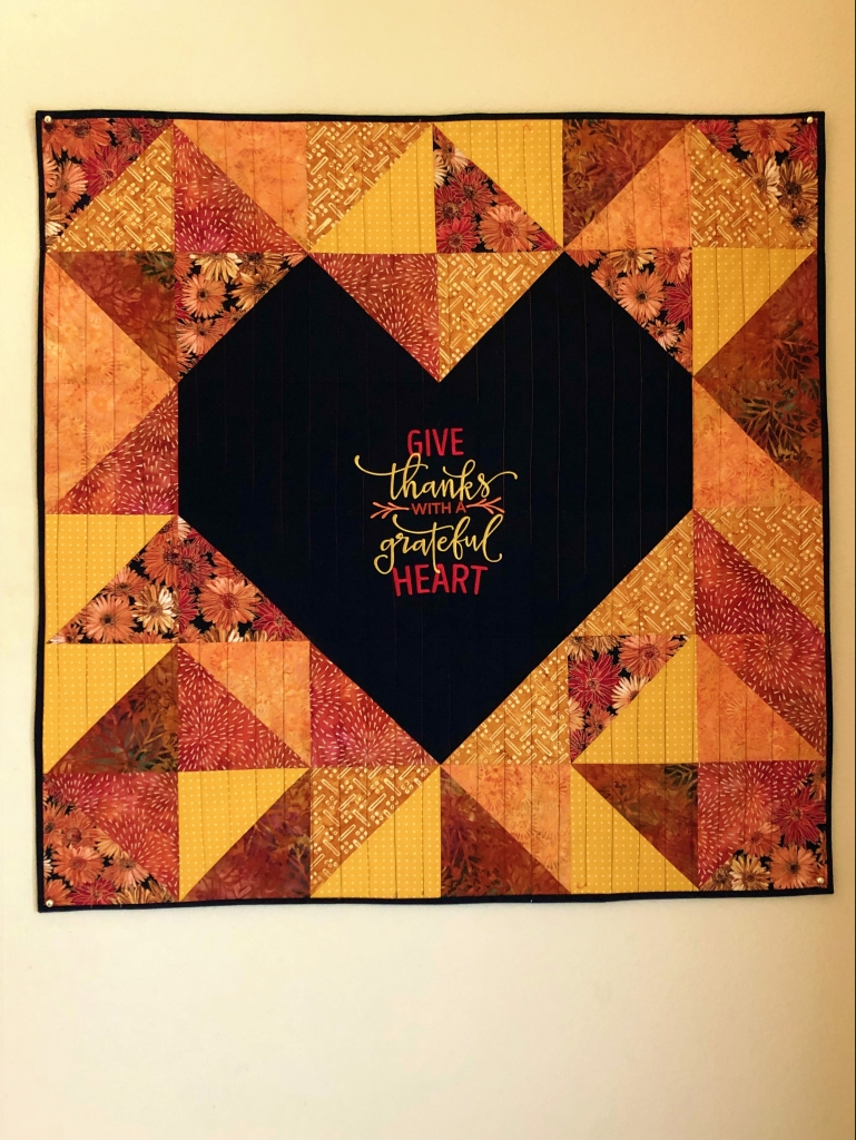 hst fall wall hanging