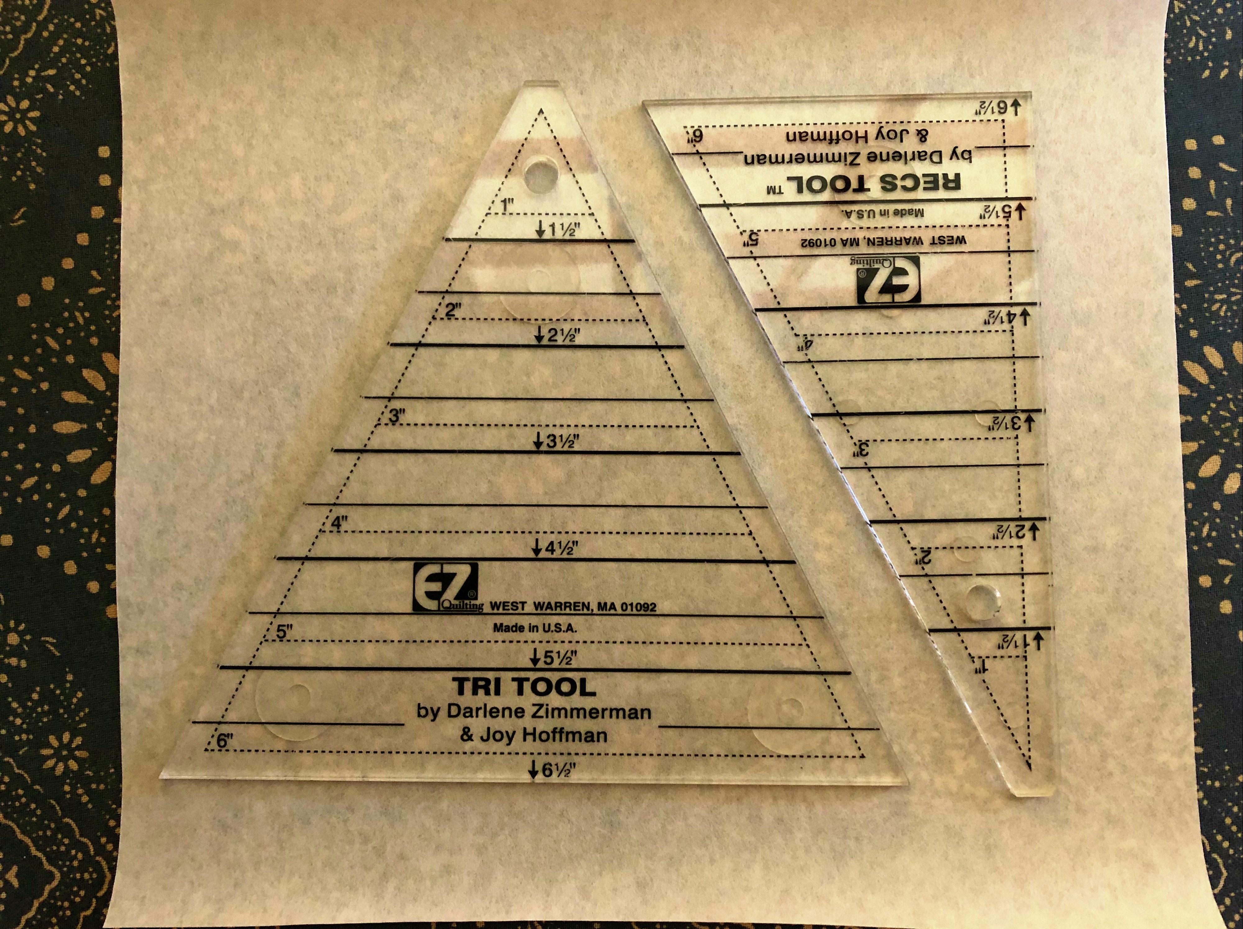 tri recs ruler combo