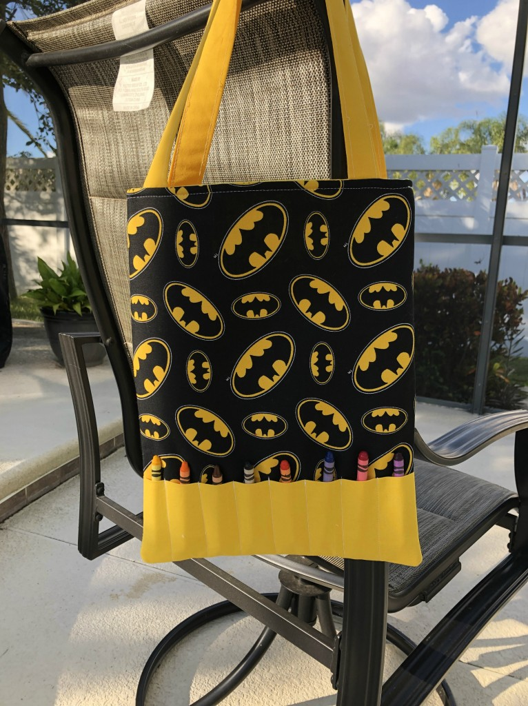 toddler activity tote bag